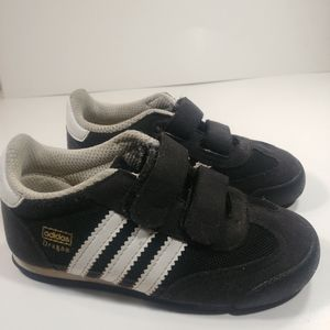 Adidas Dragon Velcro Strap Sneakers Size 7K😍